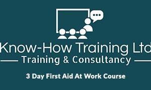 3 Day First Aid At Work Course