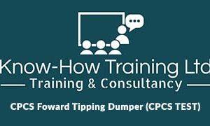 CPCS A09 Forward Tipping Dumper