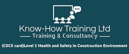(CSCS card)Level 1 Health and Safety in Construction Environment