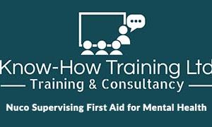 Nuco Supervising First Aid for Mental Health